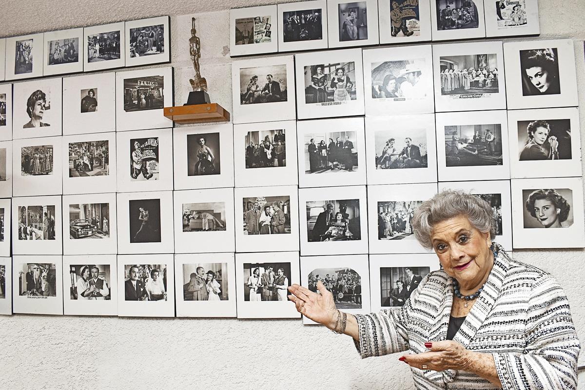 Queta Lavat es una de las actrices que marcó la Época de Oro del Cine Mexicano.