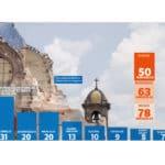 Las Iglesias dañadas en la Arquidiócesis de México