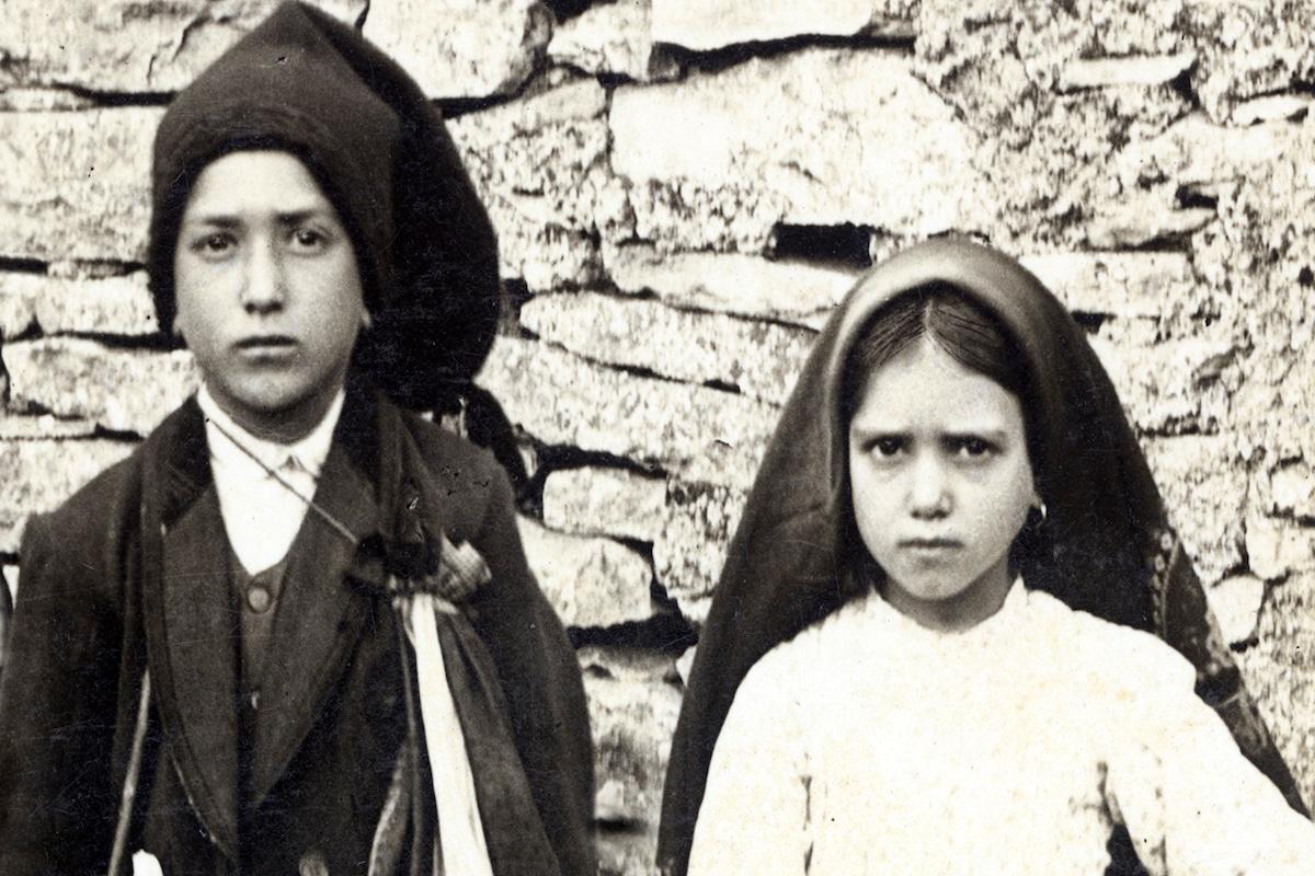 Jacinta y Francisco Marto, dos de los videntes de Fátima. Foto: Especial