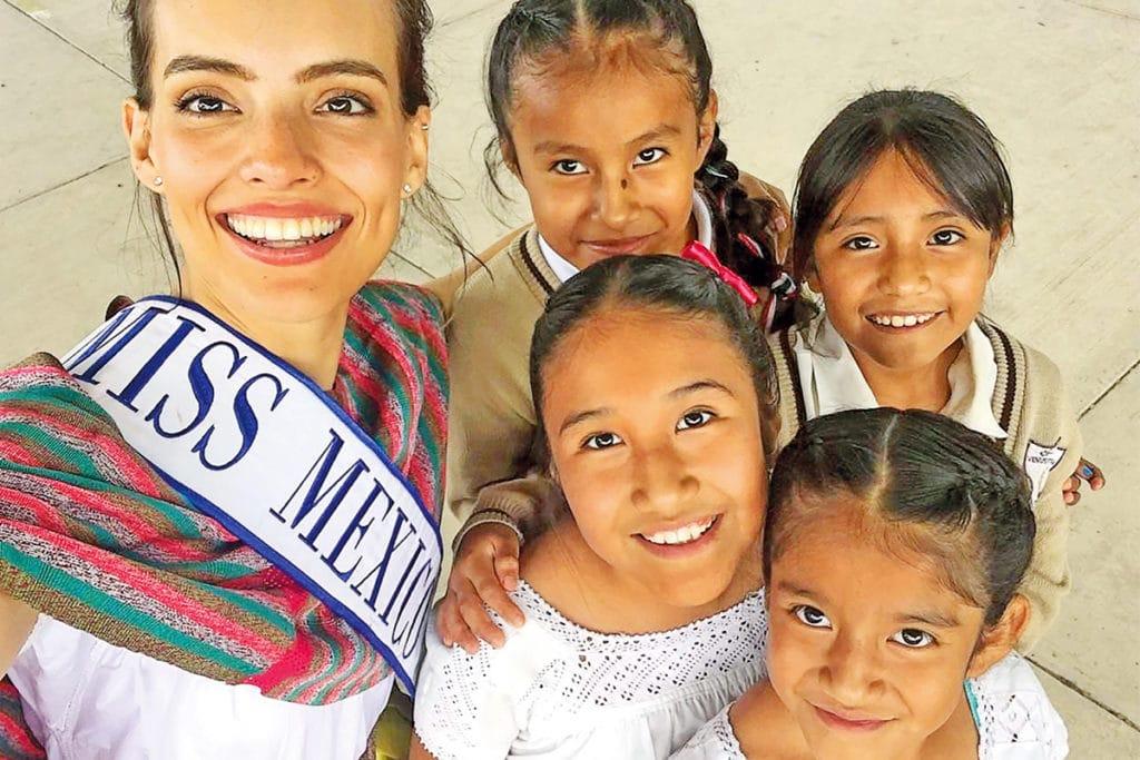 """Vanessa Ponce de León ganó el certamen Miss Mundo que es un concurso de """"belleza con propósito"""", en el que las participantes deben impulsar alguna causa que impacte a la sociedad."""