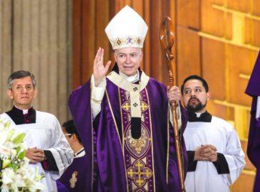 Homilía del Cardenal Carlos Aguiar durante el III domingo de Cuaresma