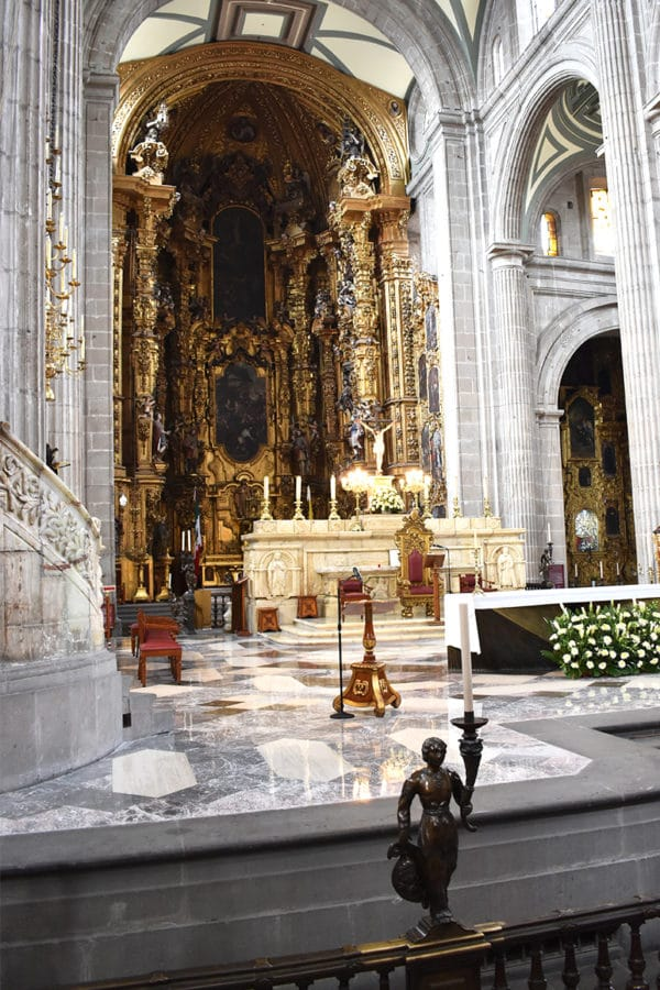 La Catedral Metropolitana posee una riqueza cultural incomparable. Foto: Ricardo Sánchez.