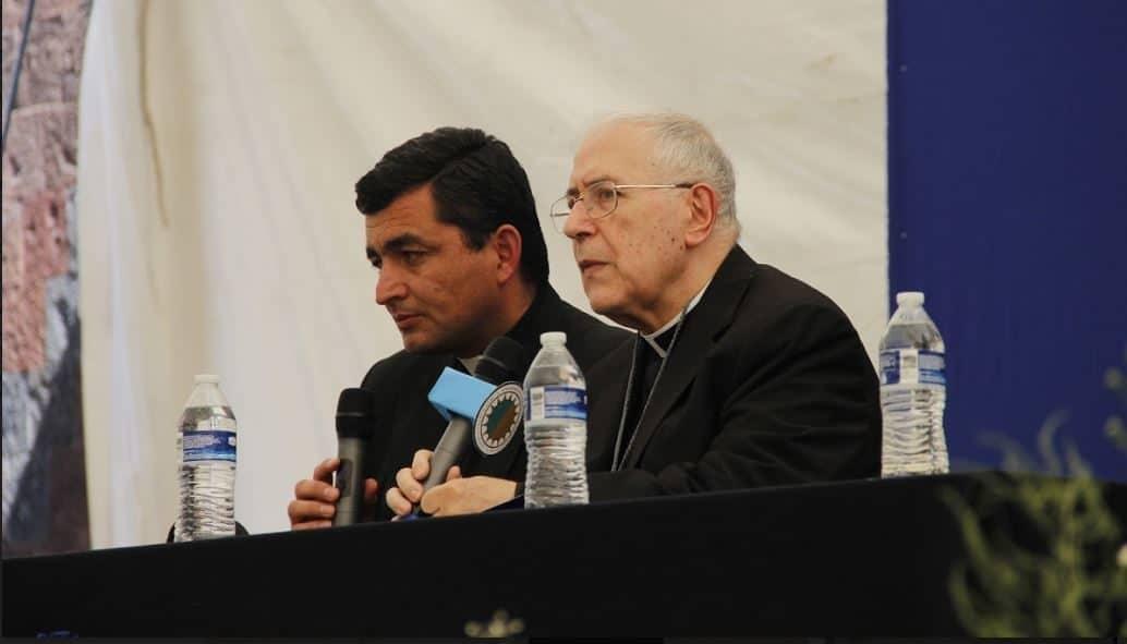 Monseñor Bernard Andura presidente del Pontificio Comité de Ciencias Históricas del Vaticano. Foto Alejandro García.