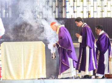 Homilía del Cardenal Aguiar en el I domingo de Cuaresma