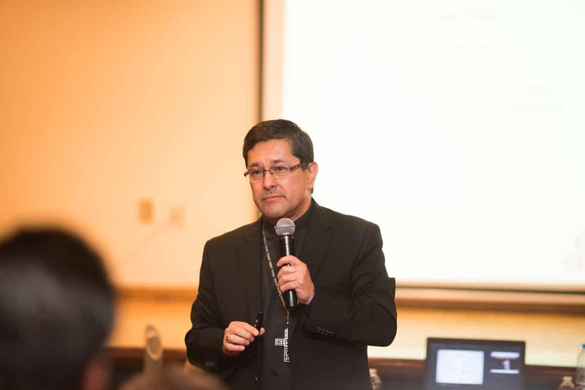 Monseñor Alfonso Miranda. Foto: María Langarica.