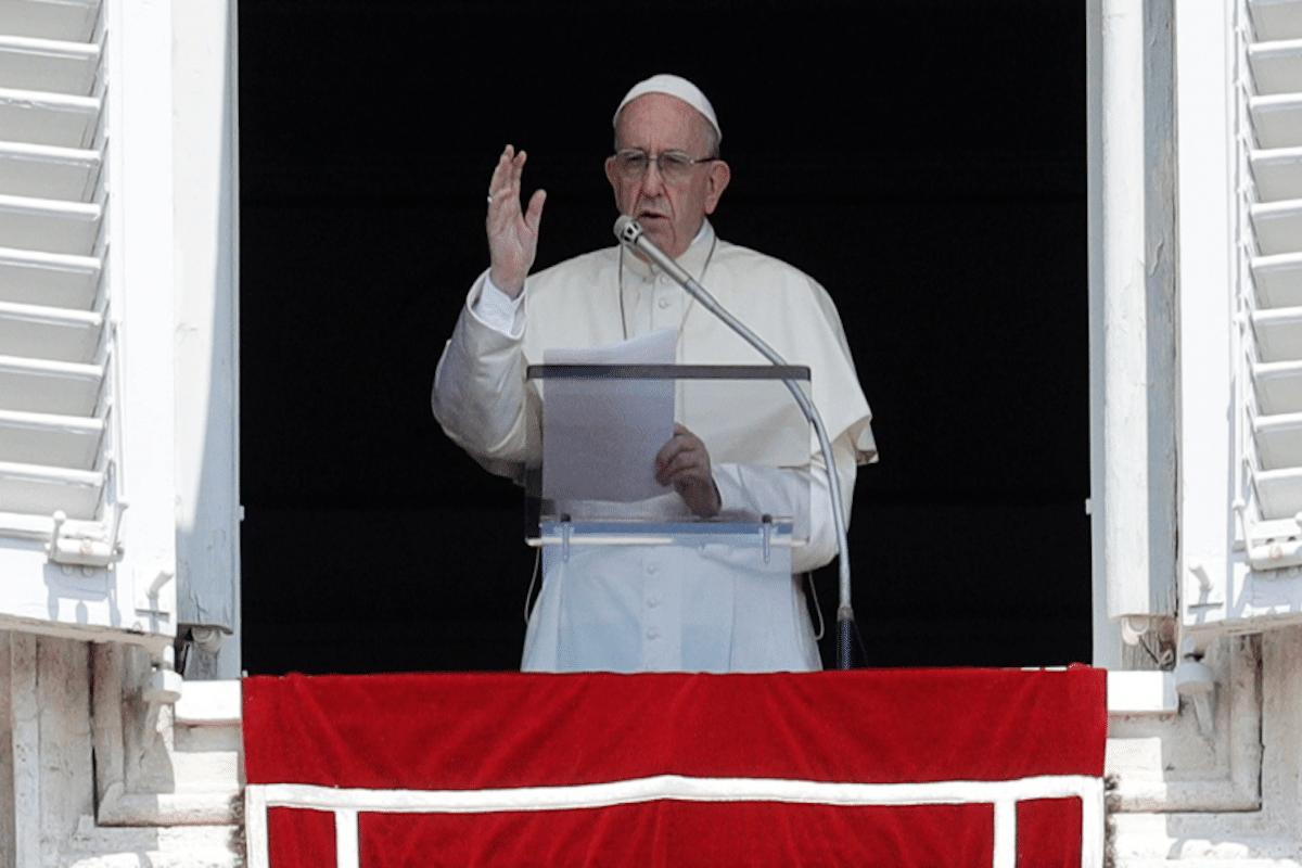 Papa Francisco hace un llamado a la paz. Foto Vatican Media.