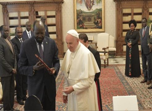 Papa Francisco anuncia su deseo de visitar Sudán