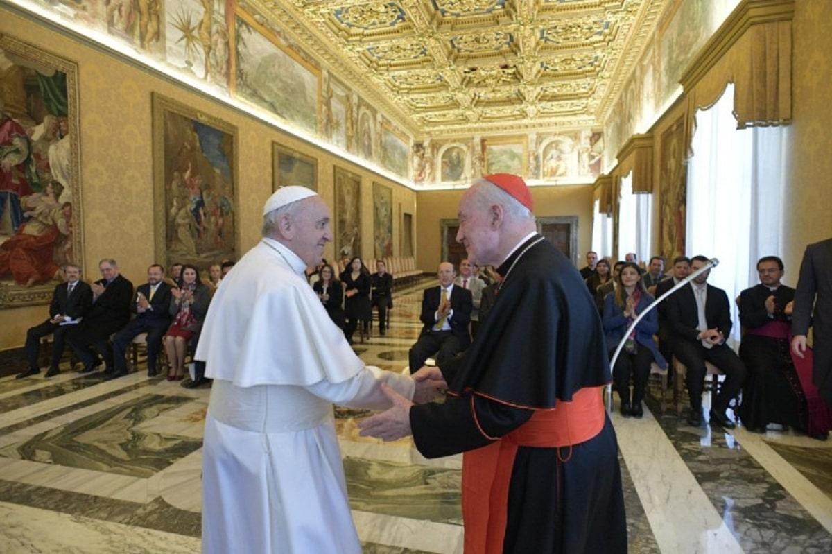 Papa Francisco, reunión Academia de Líderes Católicos