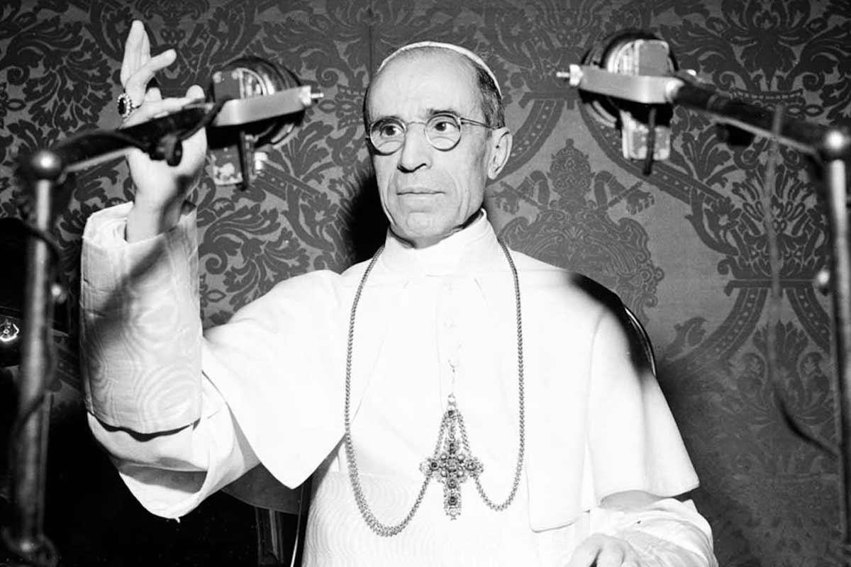 Pío XII tuvo que afrontar uno de los momentos más tristes y oscuros del siglo XX. Foto Archivo