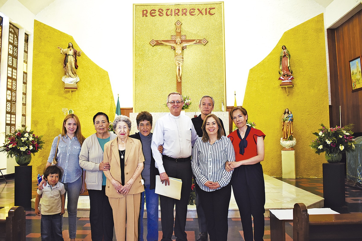 Poco a poco, la Parroquia de San Patricio ha construido su comunidad local. Foto: Ricardo Sánchez