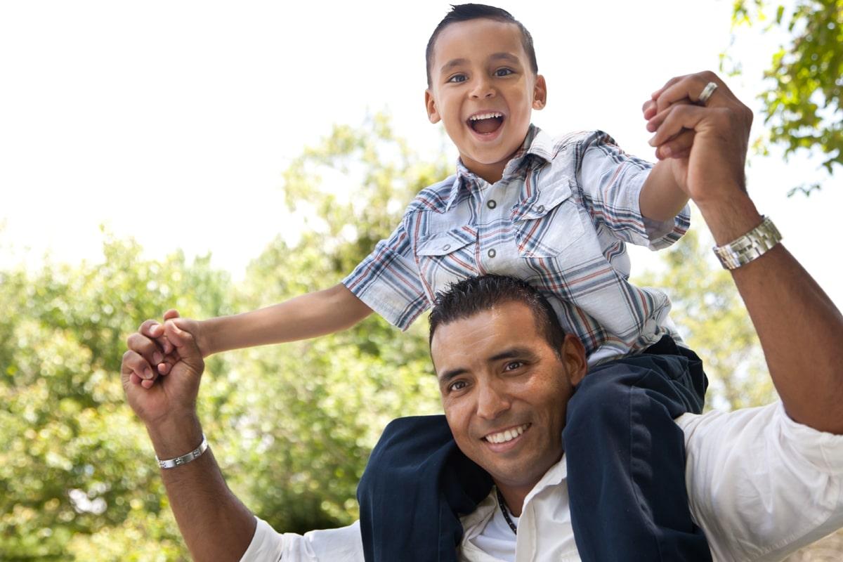 Nunca es tarde para que un padre se acerque a sus hijos y fortalezca su relación.