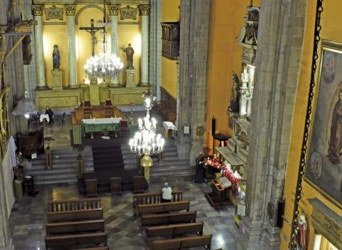 La Rectoría de San Juan de Dios: Una iglesia con doble festejo