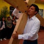 Avanzan los preparativos para el Viacrucis en Iztapalapa