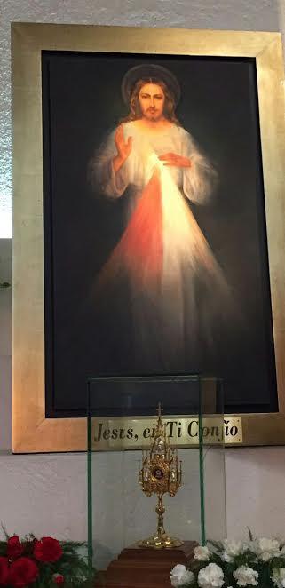 La imagen de Jesús, Señor de la Misericordia. Foto: Cortesía/Susana Segura