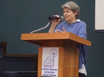 Caravanas mostraron que México puede acoger migrantes: Lucila Servitje
