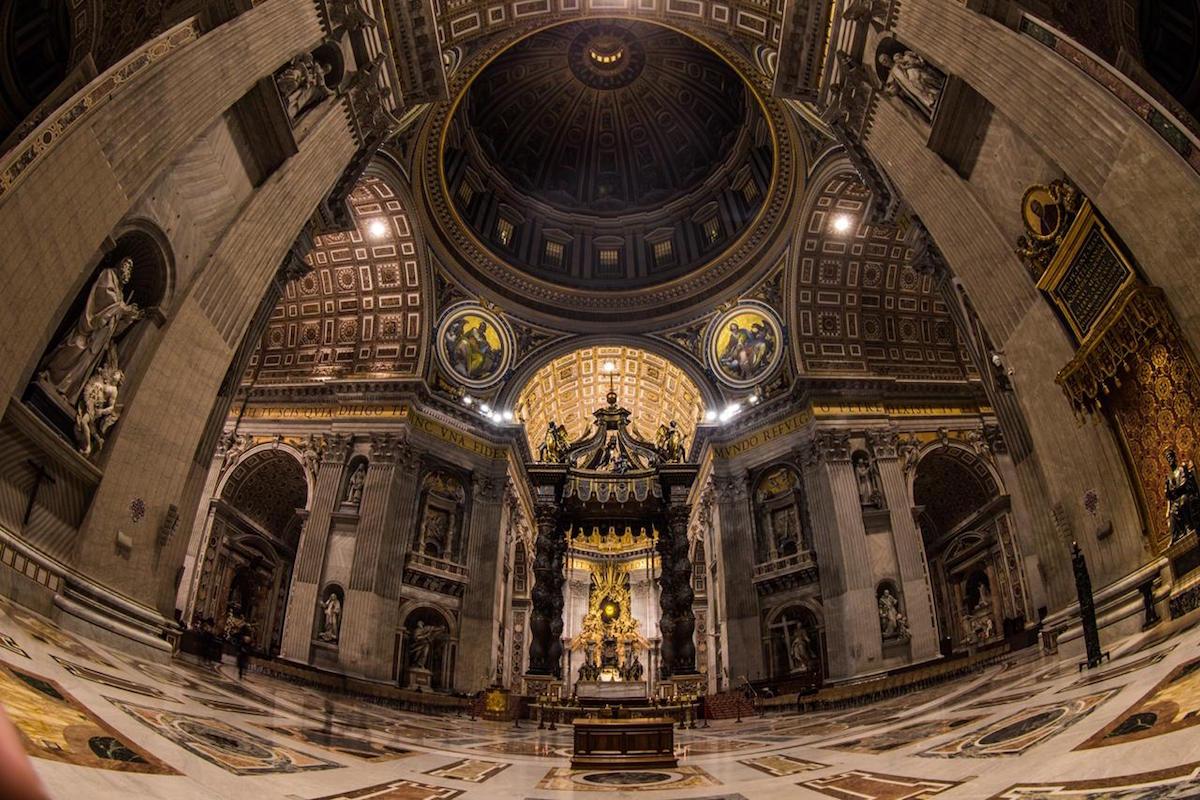 La Basílica de San Pedro en el Vaticano. Foto: María Langarica