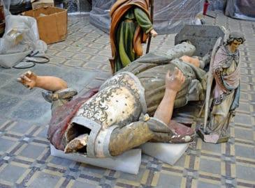 ¿Qué pasará con el arte de las iglesias dañadas en el 19S?