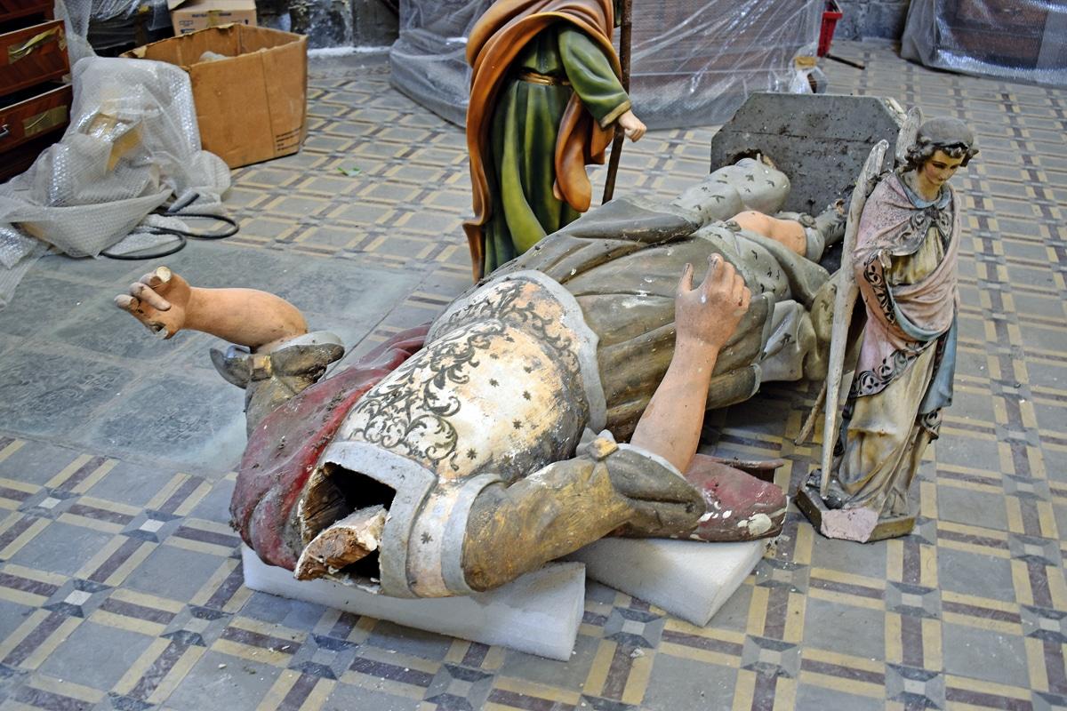 La clasificación iniciará con la creación de un archivo fotográfico y descripción de los bienes eclesiásticos en Azcaptzalco y Xochimilco. Foto Especial