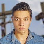 Él es el joven que representará al Cristo de Iztapalapa