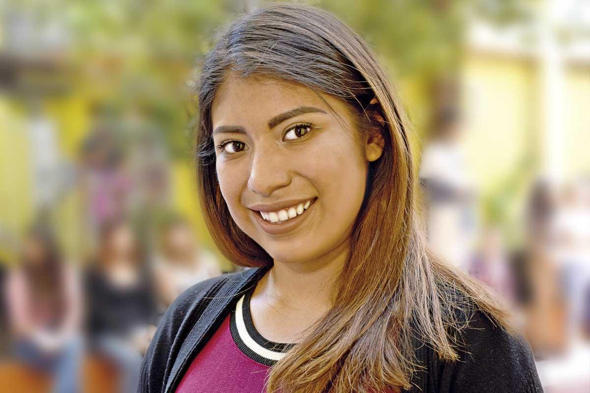 Alma Darinka Pineda dará vida a la Virgen María en el Viacrucis de Iztapalapa. Foto: Ricardo Sánchez