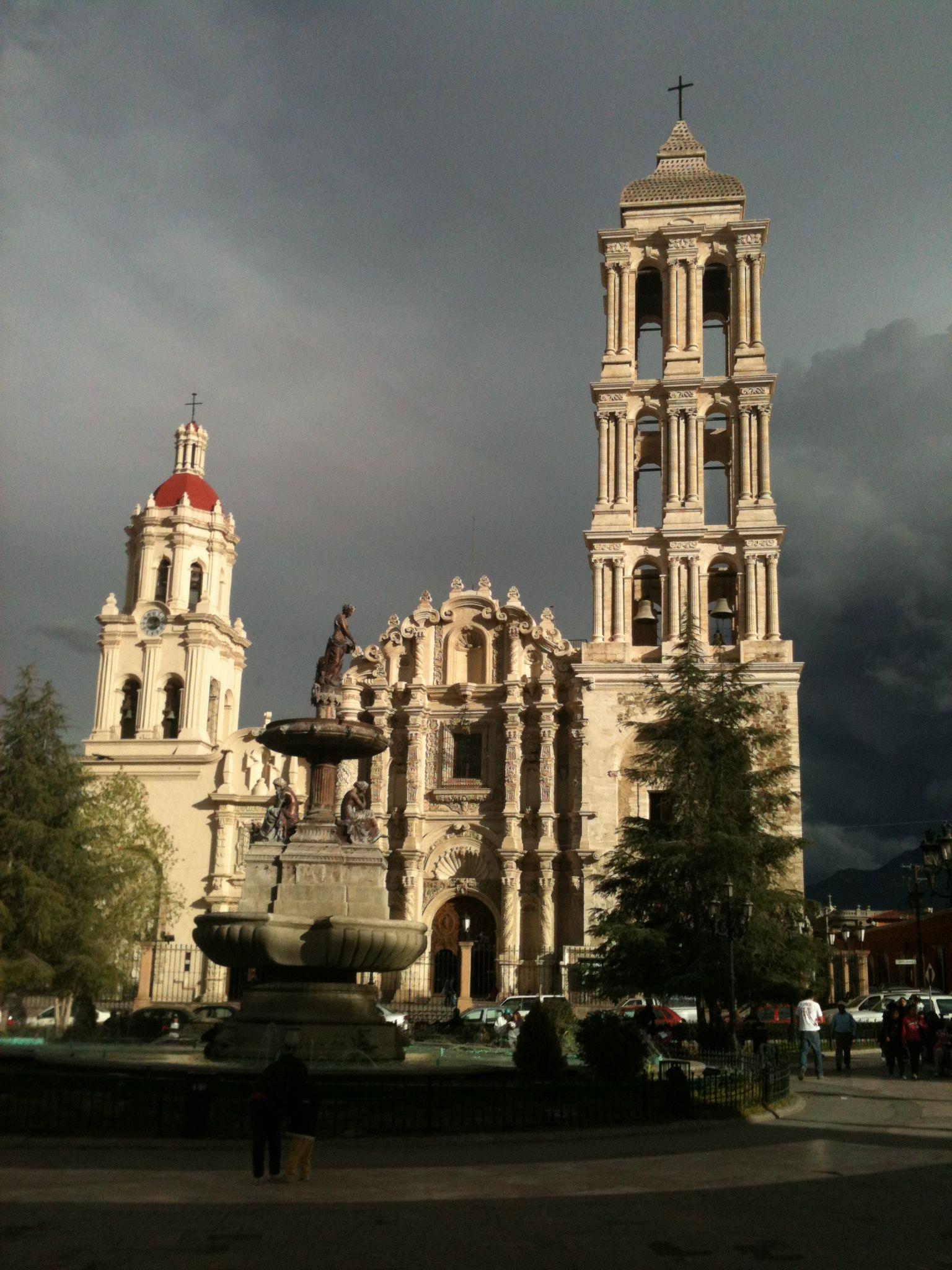 La Catedral de Saltillo es la más alta del norte de México. Foto: Archivo
