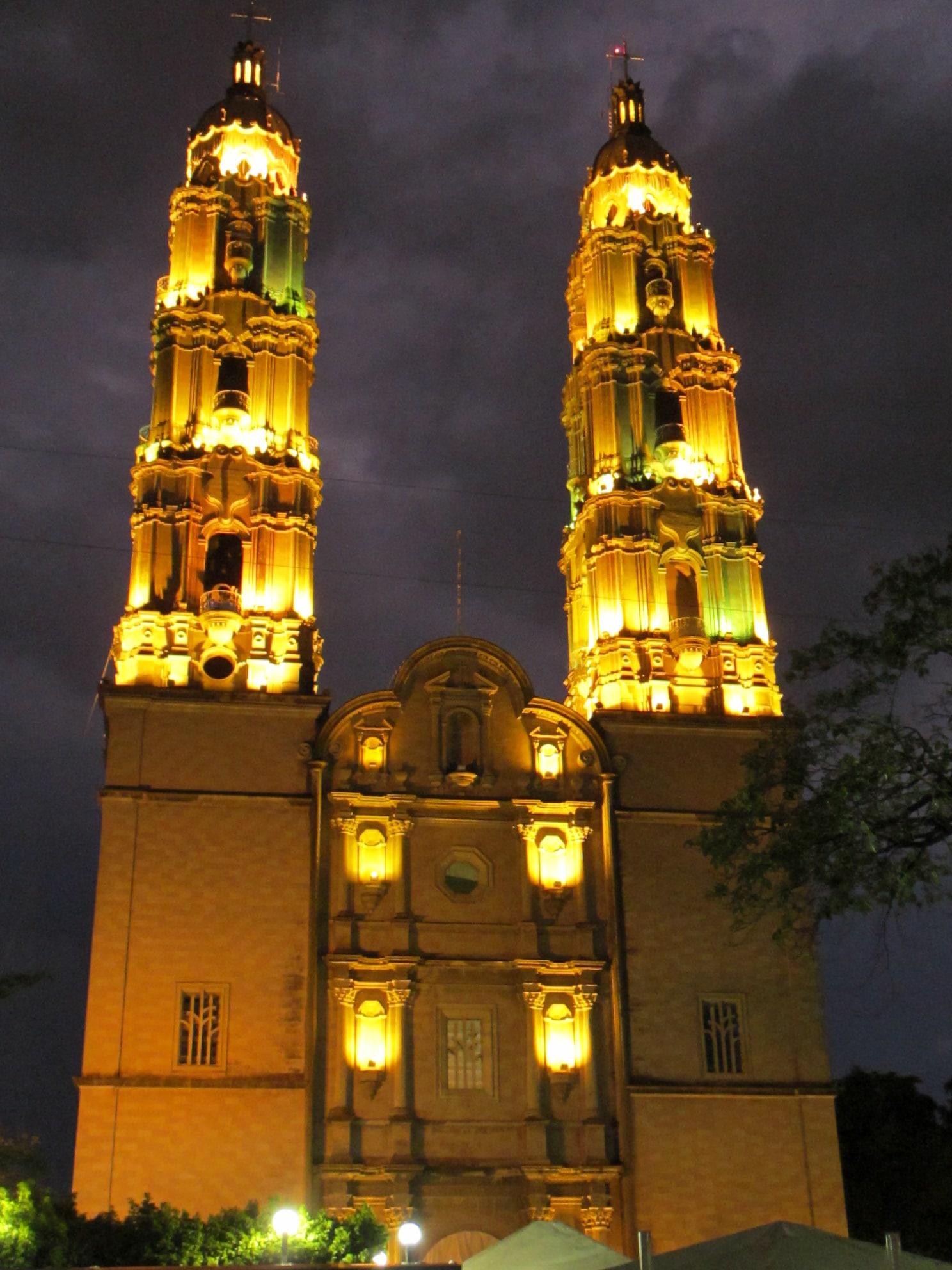 La Catedral de Villahermosa fue bendecida por el Papa Juan Pablo II. Foto: Archivo