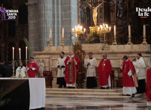 Inicia oficialmente la Semana Santa en la Arquidiócesis