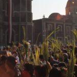 Domingo de Ramos, así inició Semana Santa en Basílica de Guadalupe