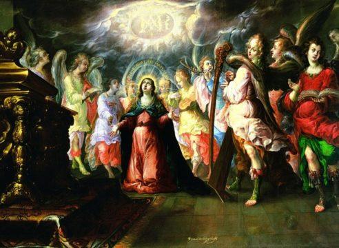 El dulce nombre de María, la 'obra viajera' de la Basílica de Guadalupe