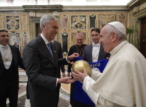 5 reflexiones del Papa Francisco sobre el deporte