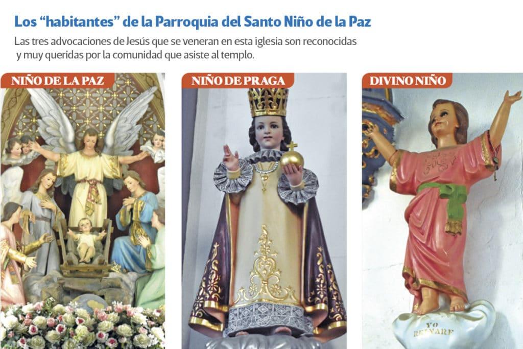 La 'pandilla' del Niño de la Paz. Foto: Ricardo Sánchez