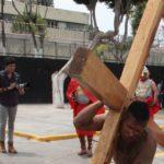 Hazael Ruiz: Viacrucis en reclusorios, un reencuentro con la espiritualidad
