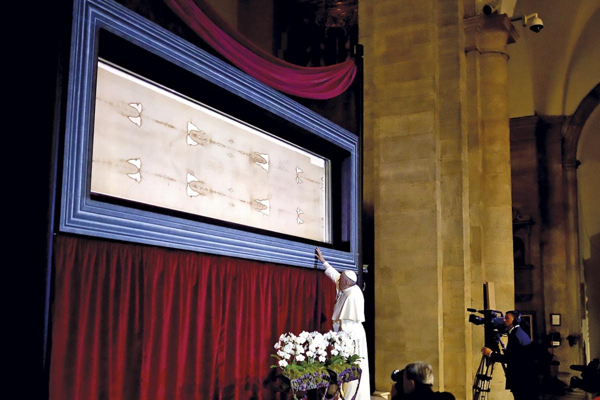 El Papa Francisco y la Sábana Santa