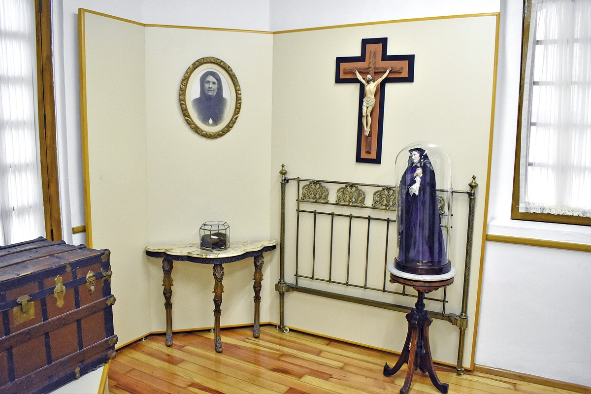 El museo de Concepción Cabrera se encuentra en Altavista 16, en la colonia San Ángel. Foto: Ricardo Sánchez