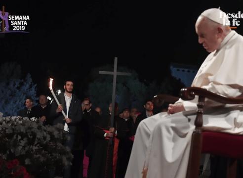 Viacrucis del Papa: Una oración por los pobres y las víctimas de trata