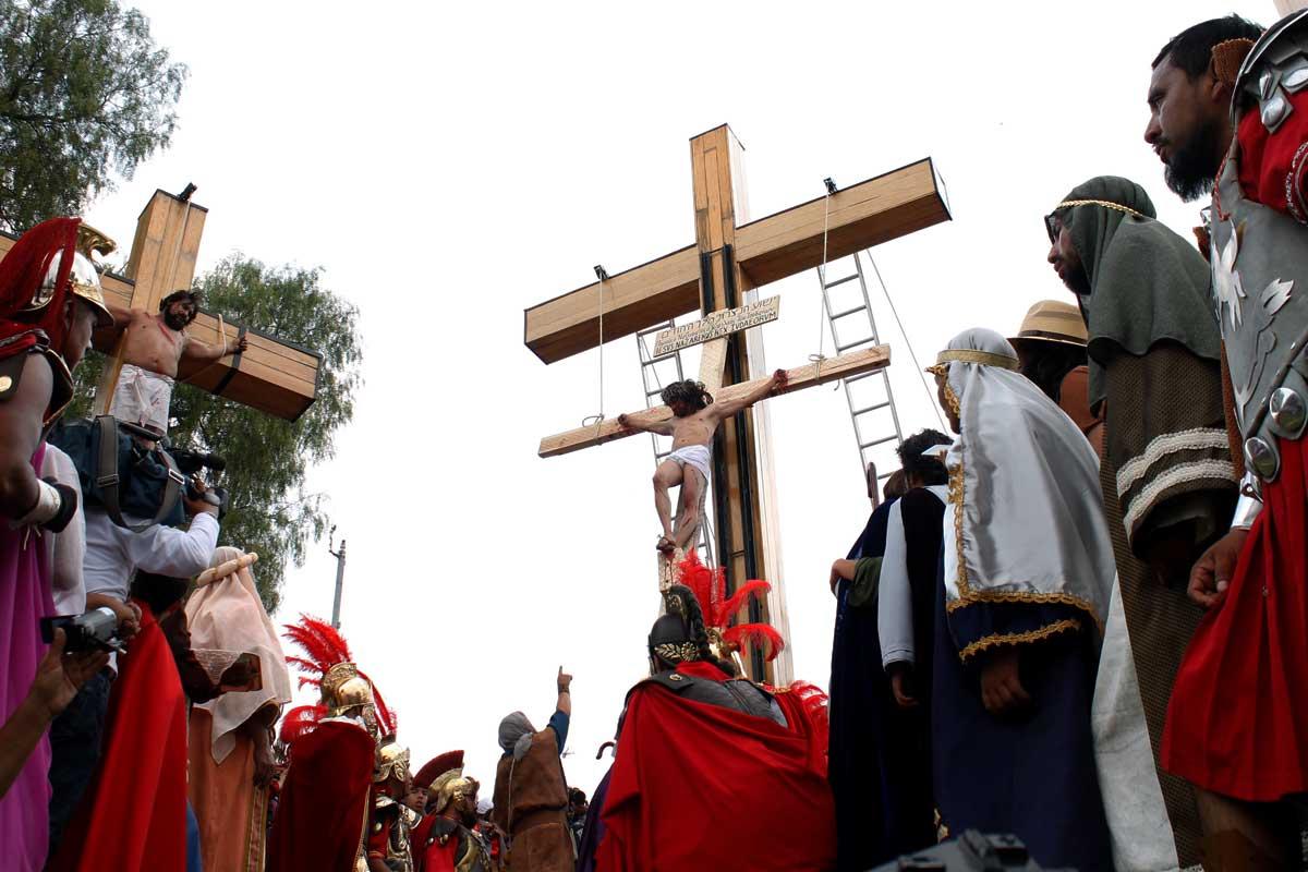 Semana Santa en Iztapalapa 2019. Foto: Jesús Eduardo Ramírez