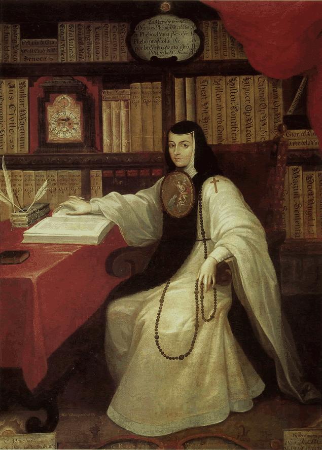 Sor Juana Inés de la Cruz, Miguel Cabrera