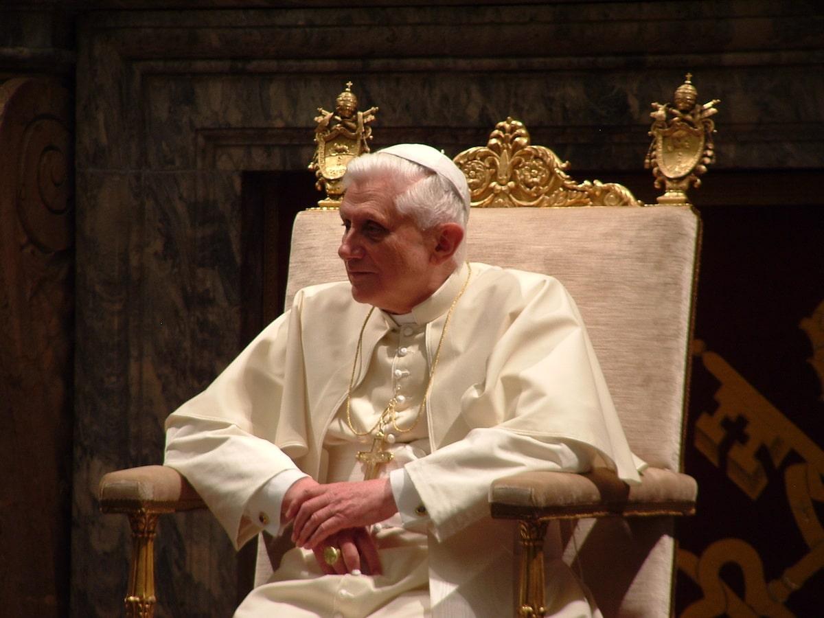 El Papa Emérito Benedicto XVI. Foto: Archivo