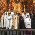 El Cardenal Aguiar recibe a miembros de la Orden del Santo Sepulcro