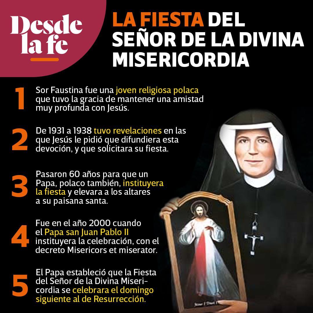 Fiesta de la Divina Misericordia.