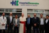 El Cardenal Carlos Aguiar Retes visitó el Hospital Escandón