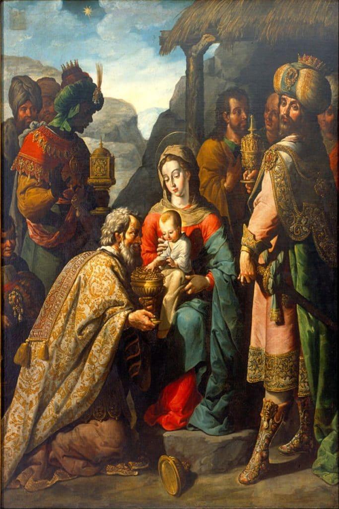 La adoración de los Reyes, José Juárez