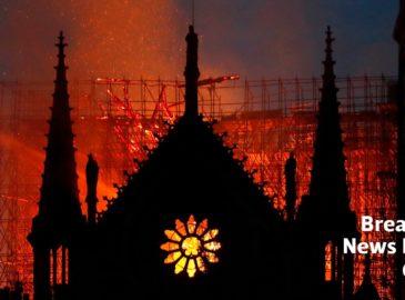 """""""Incendio en Notre Dame es una desgracia para el mundo"""""""