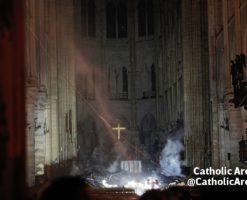 Fotos: Así quedó la Catedral de Notre Dame tras el incendio