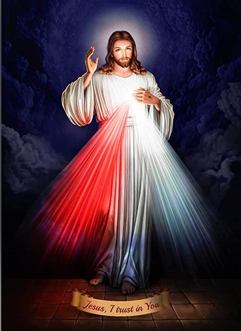 Imagen del Señor de la Divina Misericordia.