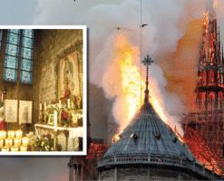 La historia de la coronación de la Virgen de Guadalupe en Notre Dame