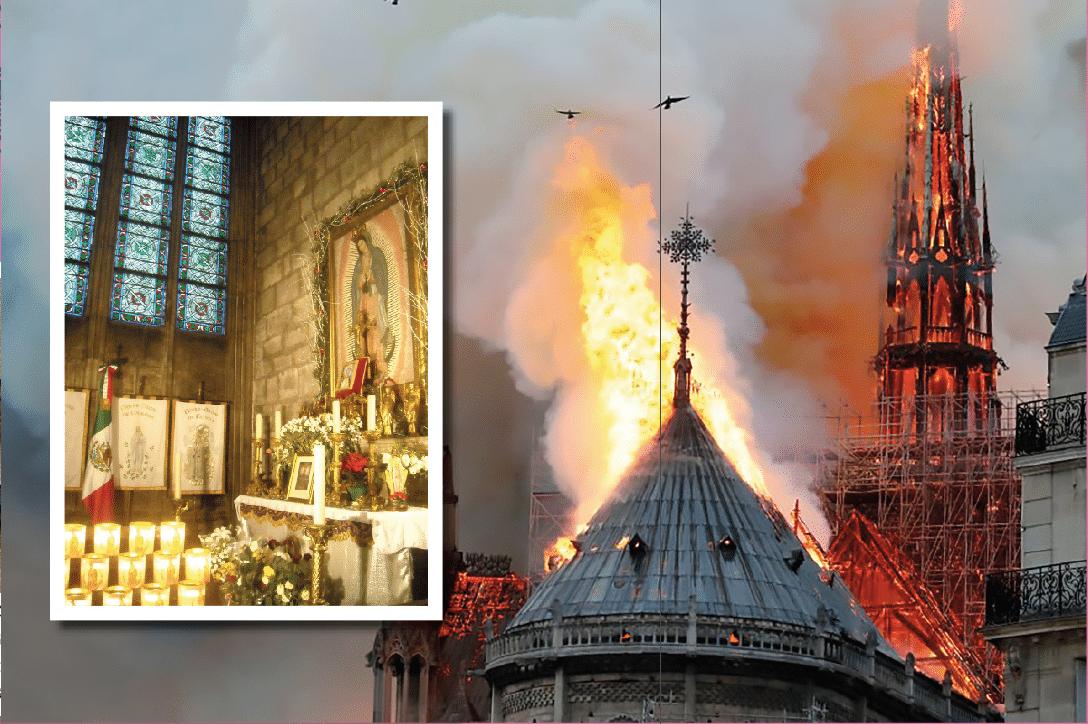 La Catedral de Notre Dame sufrió un fuerte incendio este 15 de abril.