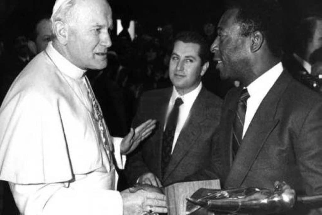 Juan Pablo Segundo y Pelé. Foto Especial