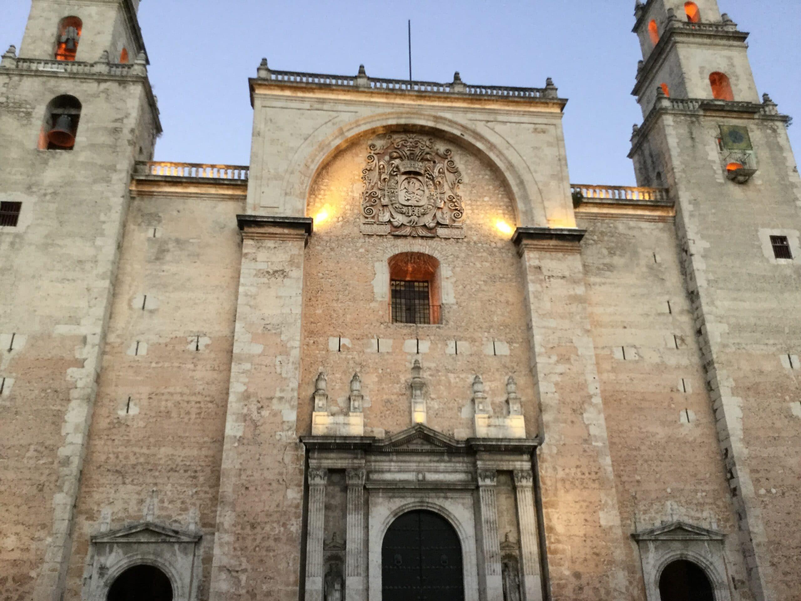 Catedral de Mérida, Yucatán. Foto: Wikimedia Commons