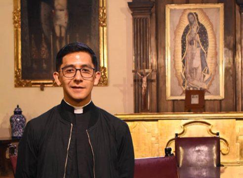 'Hágase Tu voluntad', las primeras palabras en el camino del sacerdocio